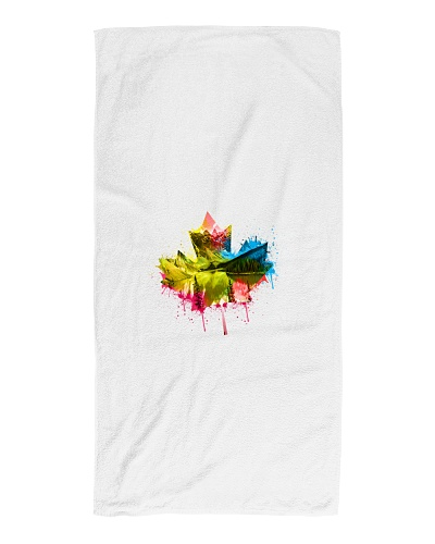 Canadian Maple Leaf Nature Beach Towel