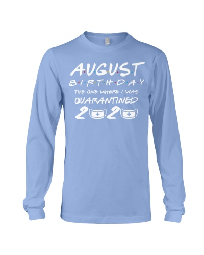August Birthday in 2020 Quarantined