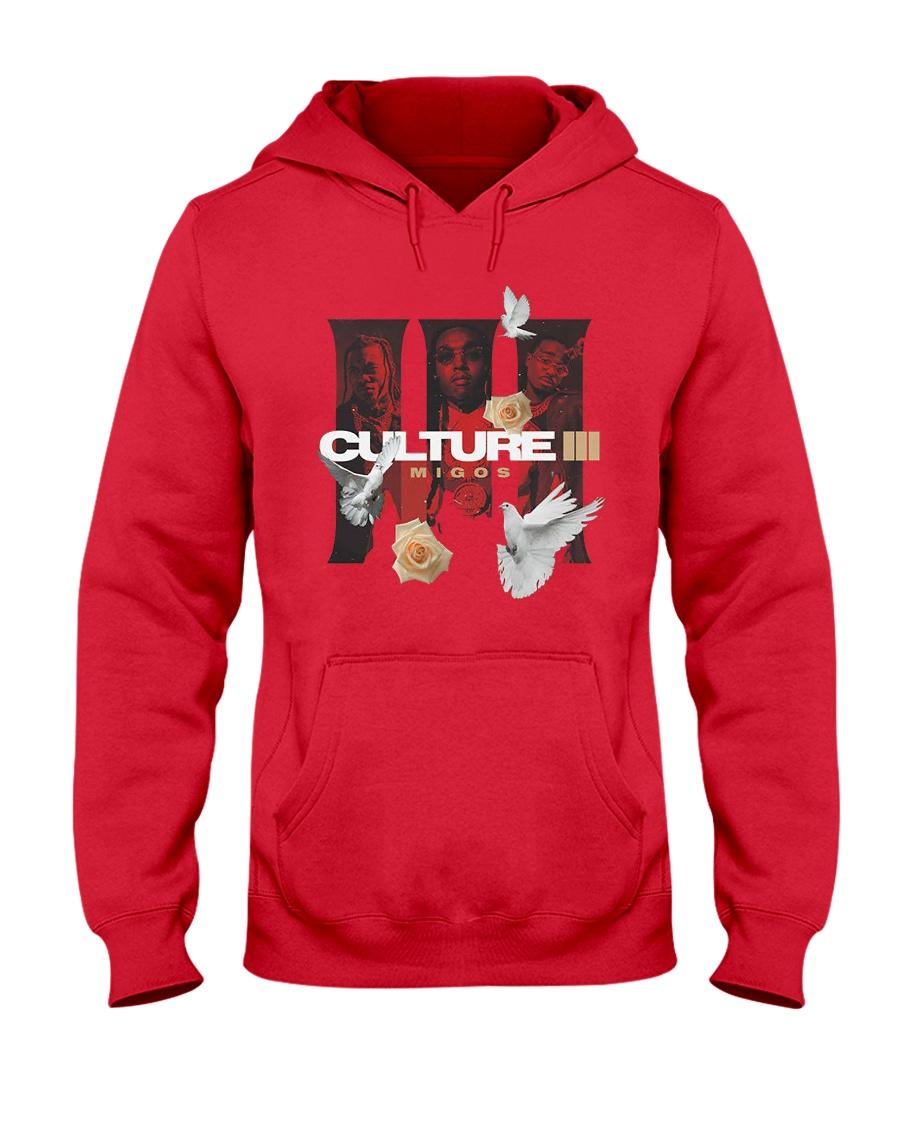 Migos Culture III Official Shirt Hooded Sweatshirt
