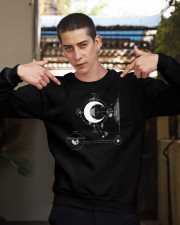 Moon Kid Trunks SHIRT Crewneck Sweatshirt apparel-crewneck-sweatshirt-lifestyle-04