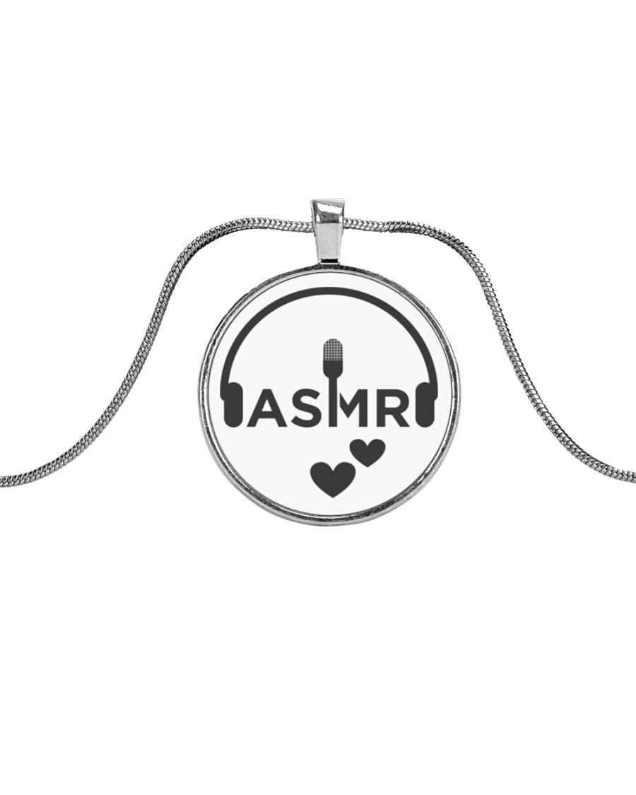Love ASMR  Metallic Circle Necklace