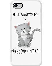 Funny cat shirt Phone Case thumbnail