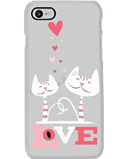 Funny cat shirt Phone Case thumbnail