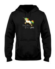 Not Giving A Flying Unicorn Hooded Sweatshirt thumbnail