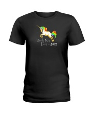 Not Giving A Flying Unicorn Ladies T-Shirt thumbnail