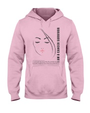 I AM CANCER SURVIVOR Hooded Sweatshirt thumbnail