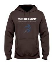 The Runner Girl Dark Collection Hooded Sweatshirt front