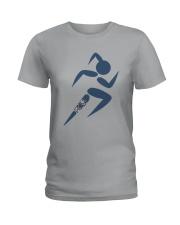 The Runner Girl Ladies T-Shirt thumbnail