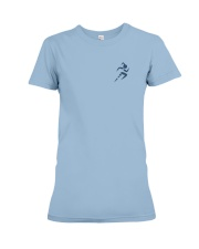 Redeemed Social Condition Logo Back Premium Fit Ladies Tee front