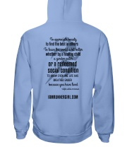 Redeemed Social Condition Logo Back Hooded Sweatshirt back