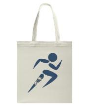The Runner Guy Logo Tote Bag front