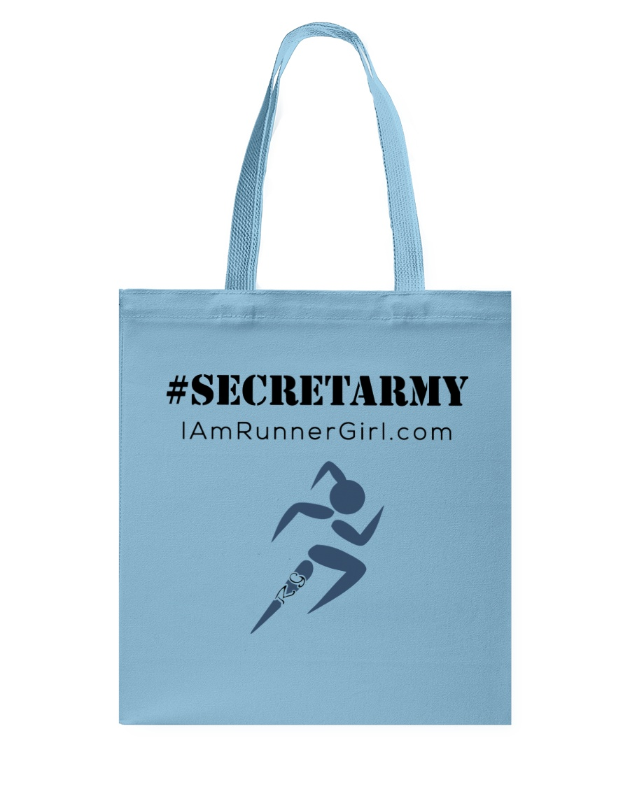 The Runner Girl Accessories Tote Bag