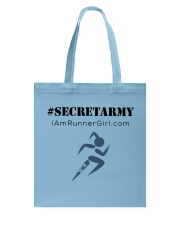 The Runner Girl Accessories Tote Bag front