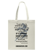 Redeemed Social Condition Accessories Tote Bag back