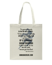 Redeemed Social Condition Accessories Tote Bag front