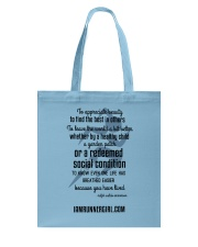 Redeemed Social Condition Accessories Tote Bag thumbnail