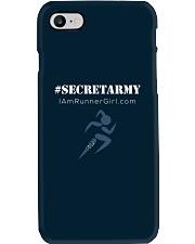 The Runner Girl Accessories Dark Phone Case i-phone-7-case