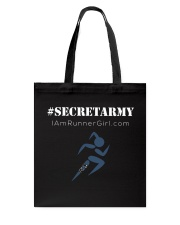 The Runner Girl Accessories Dark Tote Bag thumbnail