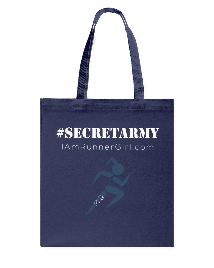 The Runner Girl Accessories Dark Tote Bag