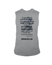 Redeemed Social Condition Logo Front Sleeveless Tee thumbnail