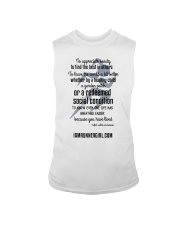 Redeemed Social Condition Logo Front Sleeveless Tee front