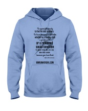 Redeemed Social Condition Logo Front Hooded Sweatshirt thumbnail