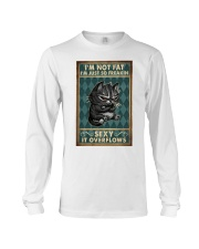 Love Cat Poster Fatty Cat Poster Long Sleeve Tee thumbnail