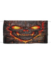Lava Skull Cloth face mask front