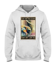 Elephant Family Hooded Sweatshirt thumbnail