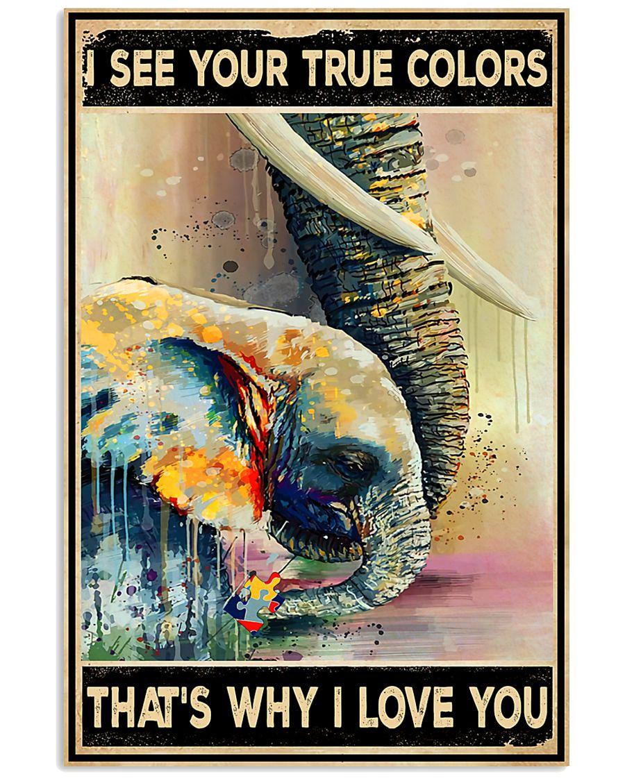 Elephant Family 11x17 Poster