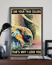 Elephant Family 11x17 Poster lifestyle-poster-2