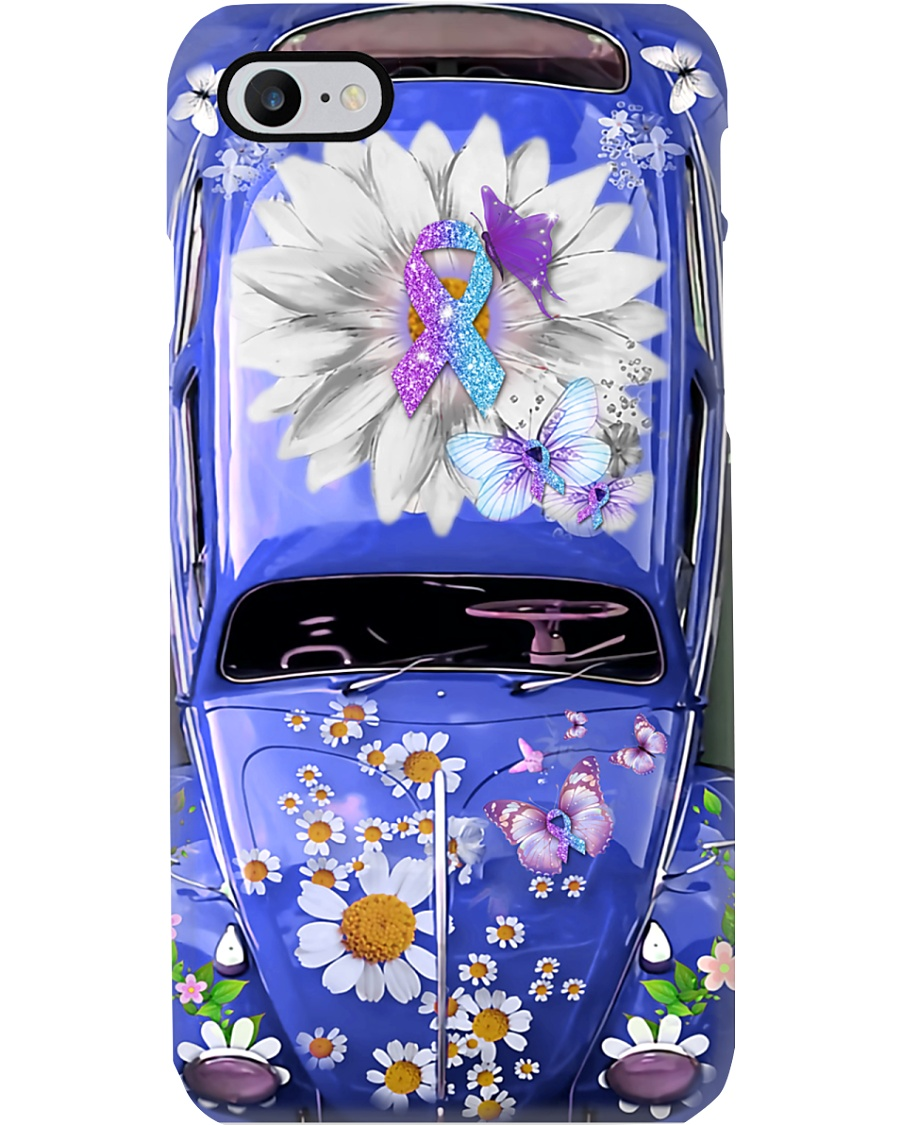Don't Give Up Vw Bug Phone Case