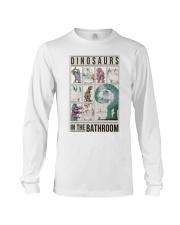 Taking Bath Dinosaurs Long Sleeve Tee thumbnail