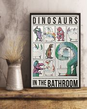 Taking Bath Dinosaurs 11x17 Poster lifestyle-poster-3