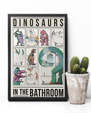 Taking Bath Dinosaurs 11x17 Poster lifestyle-poster-8
