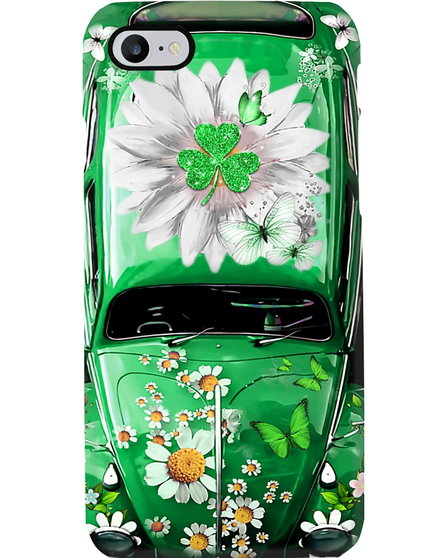 Lucky Leaf Vw Bug Phone Case