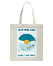 Music Lose Your Mind Find Your Soul Tote Bag thumbnail