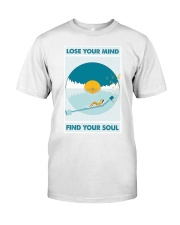 Music Lose Your Mind Find Your Soul Classic T-Shirt thumbnail
