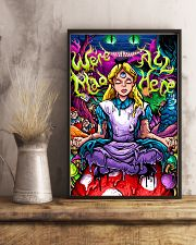We Are All Mad Here 11x17 Poster lifestyle-poster-3