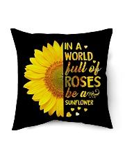 Be A Sunflower Indoor Pillow tile