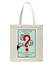 Monopoly Game TAKE THE RISK Tote Bag thumbnail