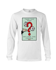 Monopoly Game TAKE THE RISK Long Sleeve Tee thumbnail