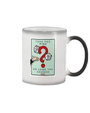 Monopoly Game TAKE THE RISK Color Changing Mug thumbnail