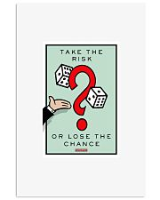 Monopoly Game TAKE THE RISK 11x17 Poster front