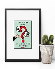 Monopoly Game TAKE THE RISK 11x17 Poster lifestyle-poster-8