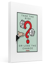 Monopoly Game TAKE THE RISK 16x24 Gallery Wrapped Canvas Prints thumbnail
