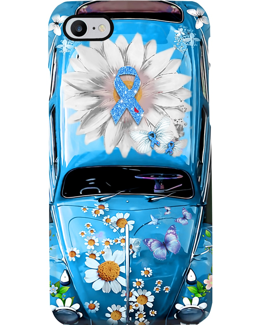 Never Give Up Vw Bug Phone Case