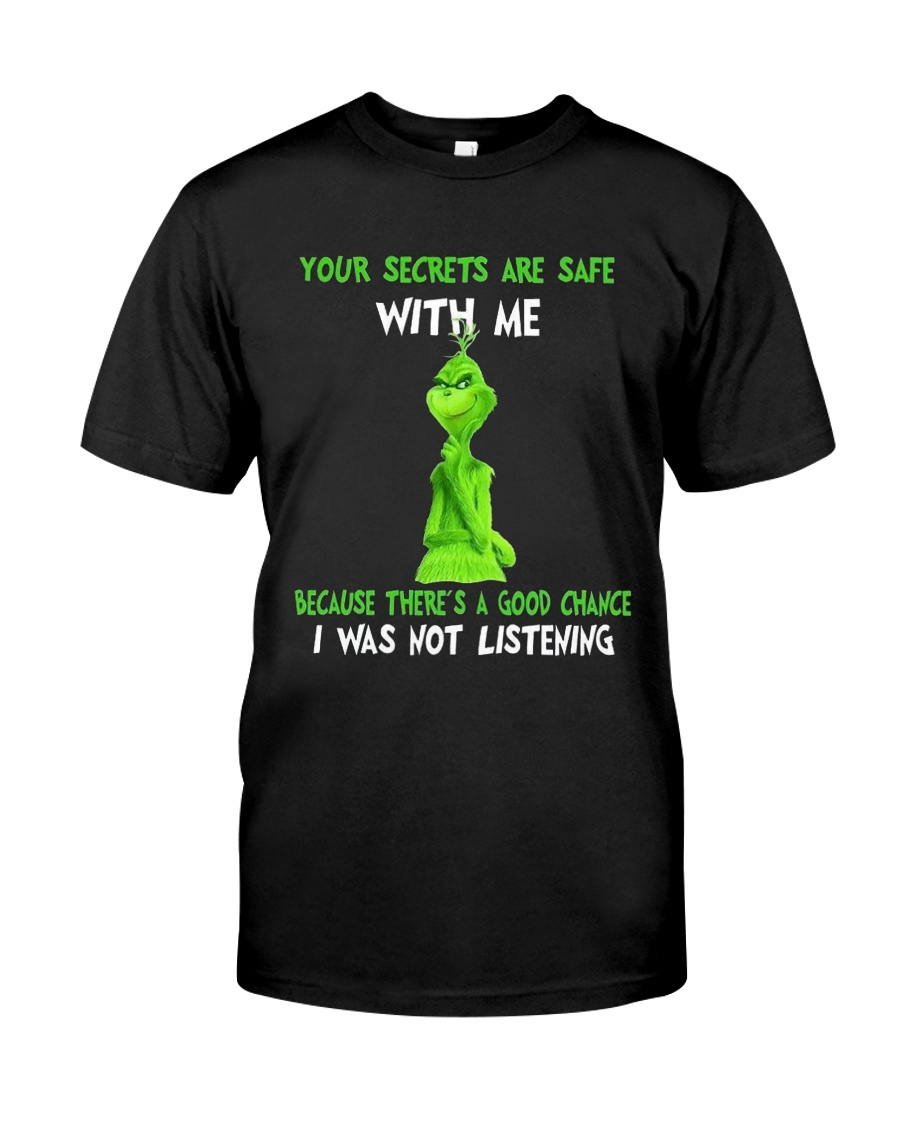 Your Secrest Are Safe With Me Classic T-Shirt