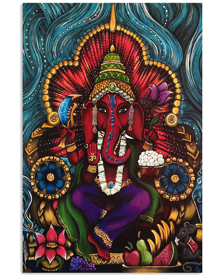 Ganesh Elephant God 16x24 Poster