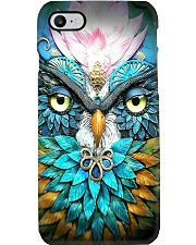 Teal Owl Phone Case i-phone-7-case